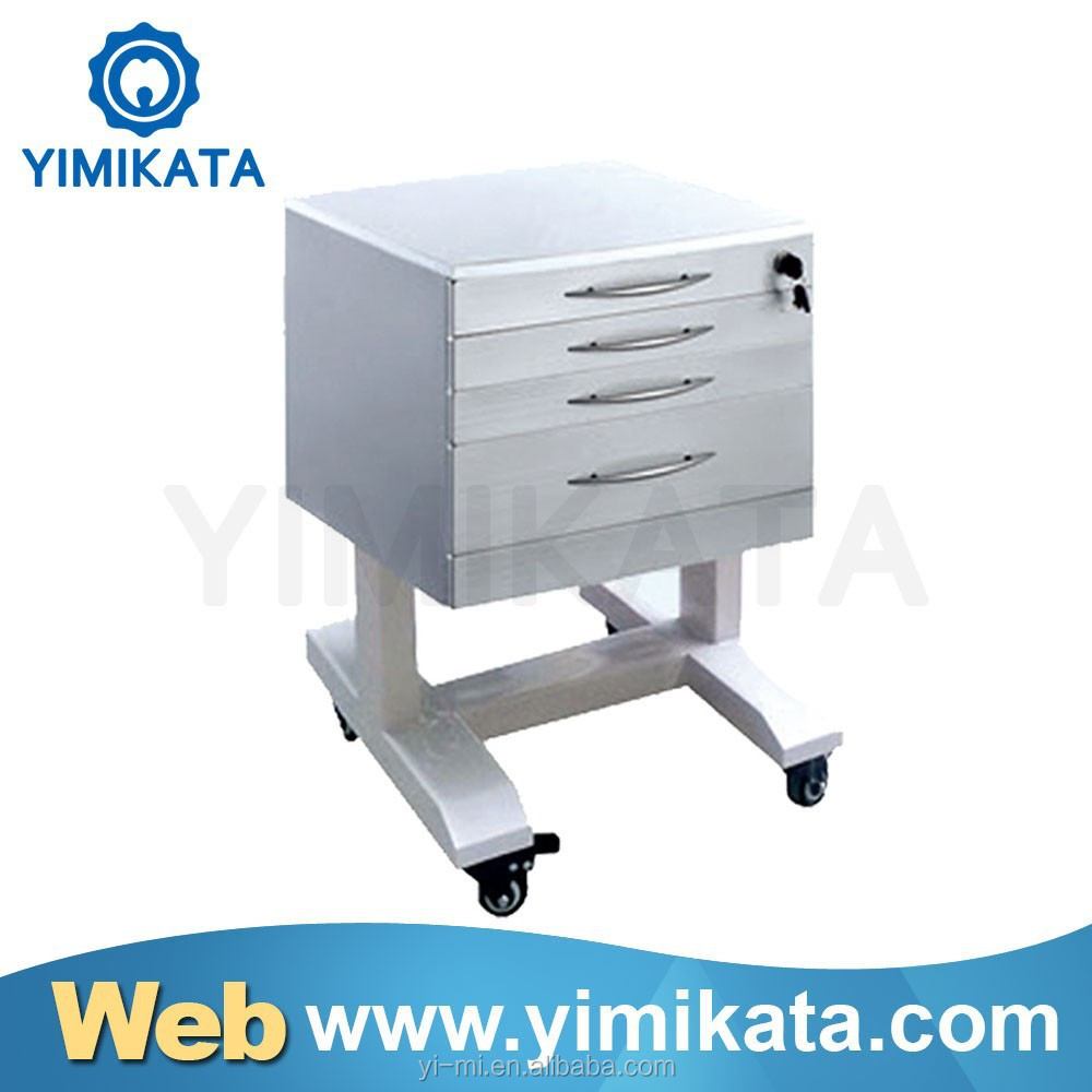 2017 Handle Type Five Drawers Dental Lab equipment mobile dental cabinet
