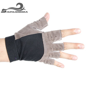 Free Sample Neoprene Best Weight Lifting Fitness Gloves with Custom Logo Available