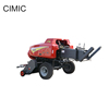 Pine straw hay compress square baler agriculture equipment