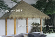 Artificial decorative reed thatch