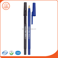 Lantu China Factory High Quality Cheapest Promotion Printing Black And Bule Ball Point Pen