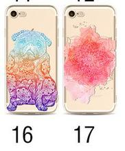 Phone Cover For Iphone 4/5/6/7/7 Galay S4 S5 S6 S6Edge S6Edge Plus Note 4 Note 5 Soft TPU Colorful Clear Phone Case Phone Bag