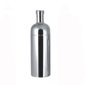 Promotional 0.7L Stainless steel beer shaker polished wine mixer for bar