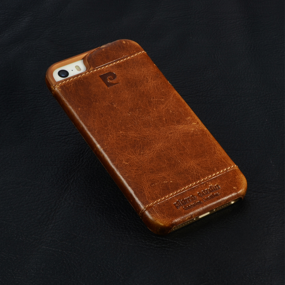 Ultra Thin Genuine Leather Fashion Luxury Cell Phone Case
