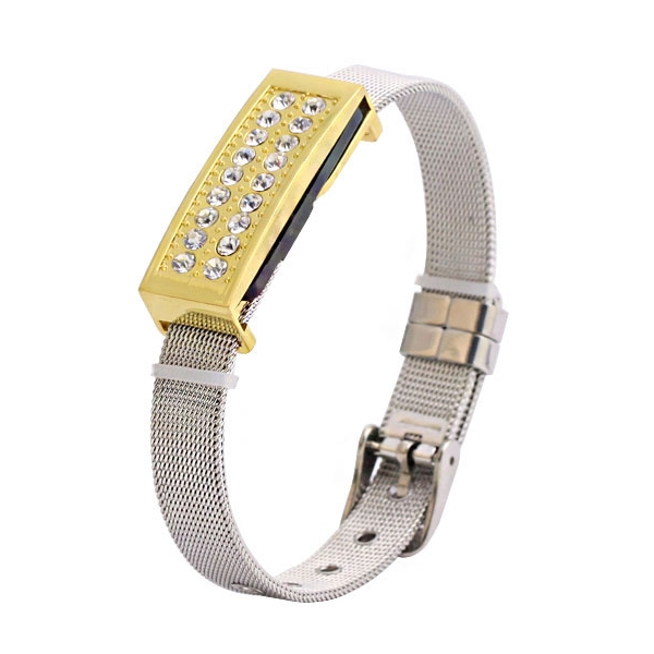 Gold Bracelet Mini USB Stick Pen Drive 1TB 2TB Luxury Diamond Gift Pendrive 128gb 16gb 32gb
