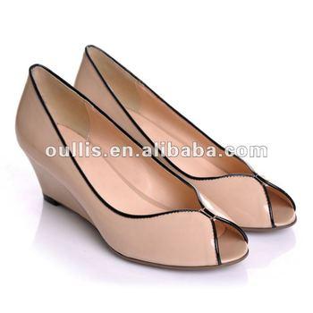 Pvc Zapatos Del De Gpa7 Product Sandalias Talón Cuña Elegantes Buy Bajos On 29DEHI