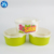 Paper round food/salad container