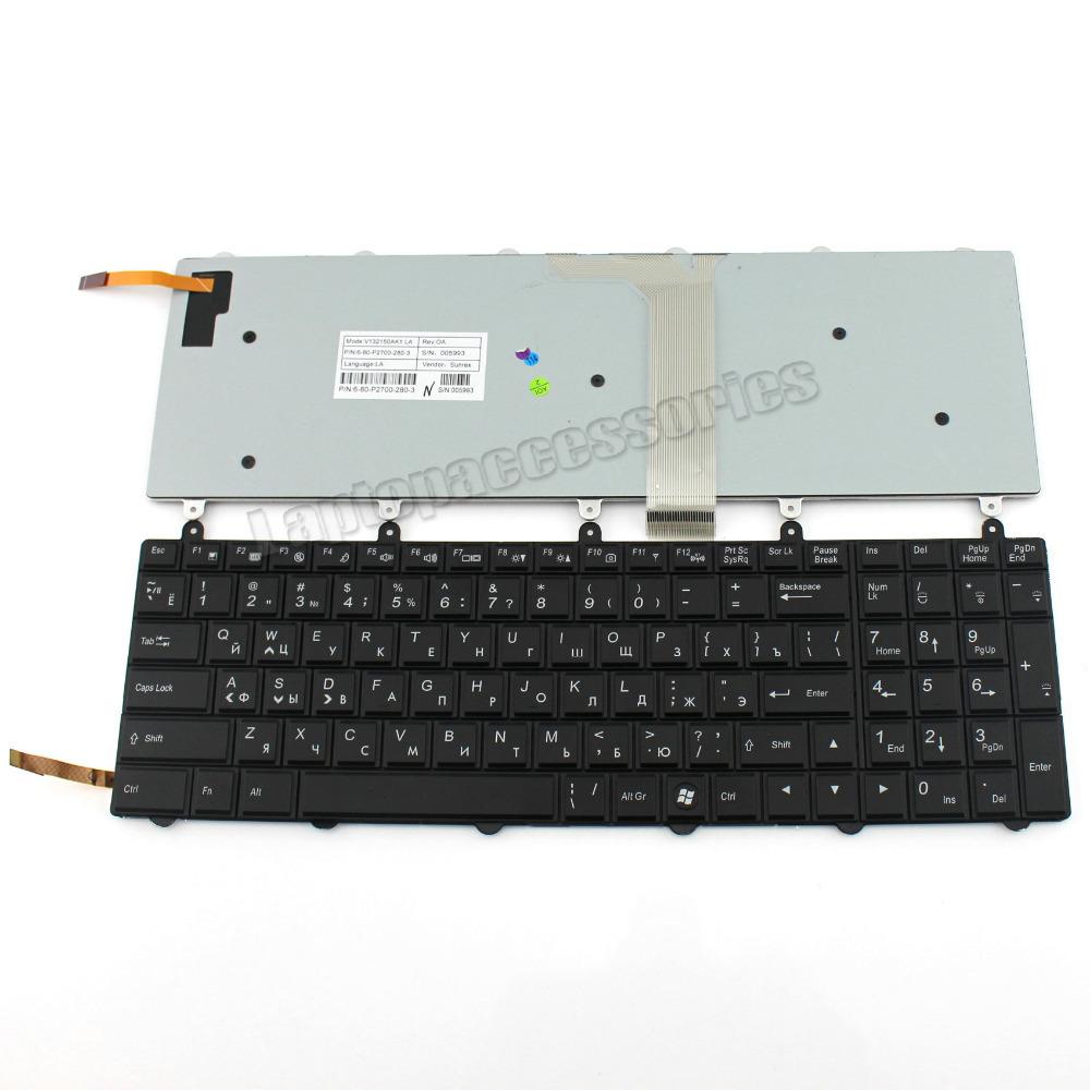 For Clevo N155SD N170SD N150SC N151SC N155SC Gaming Laptop Keyboard US Backlit