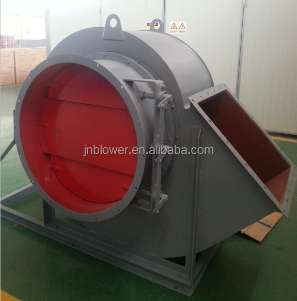 Cross flow fan 4-72 OEM available centrifugal extractor fan with damper