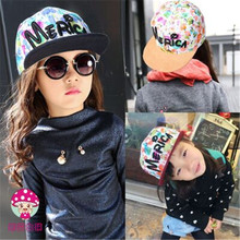 2016 new children s graffiti gorras hiphop hat hats bone boys and girls snapback baseball cap