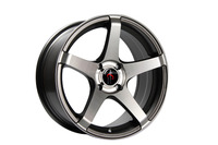 HT112 13 Inch car rims and tires for a car