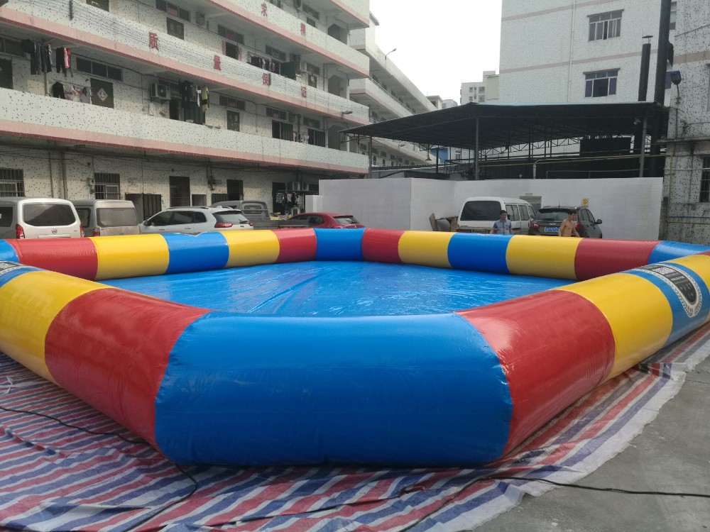 Balloon swimming pool for kids giant inflatable pool for for Huge inflatable swimming pool