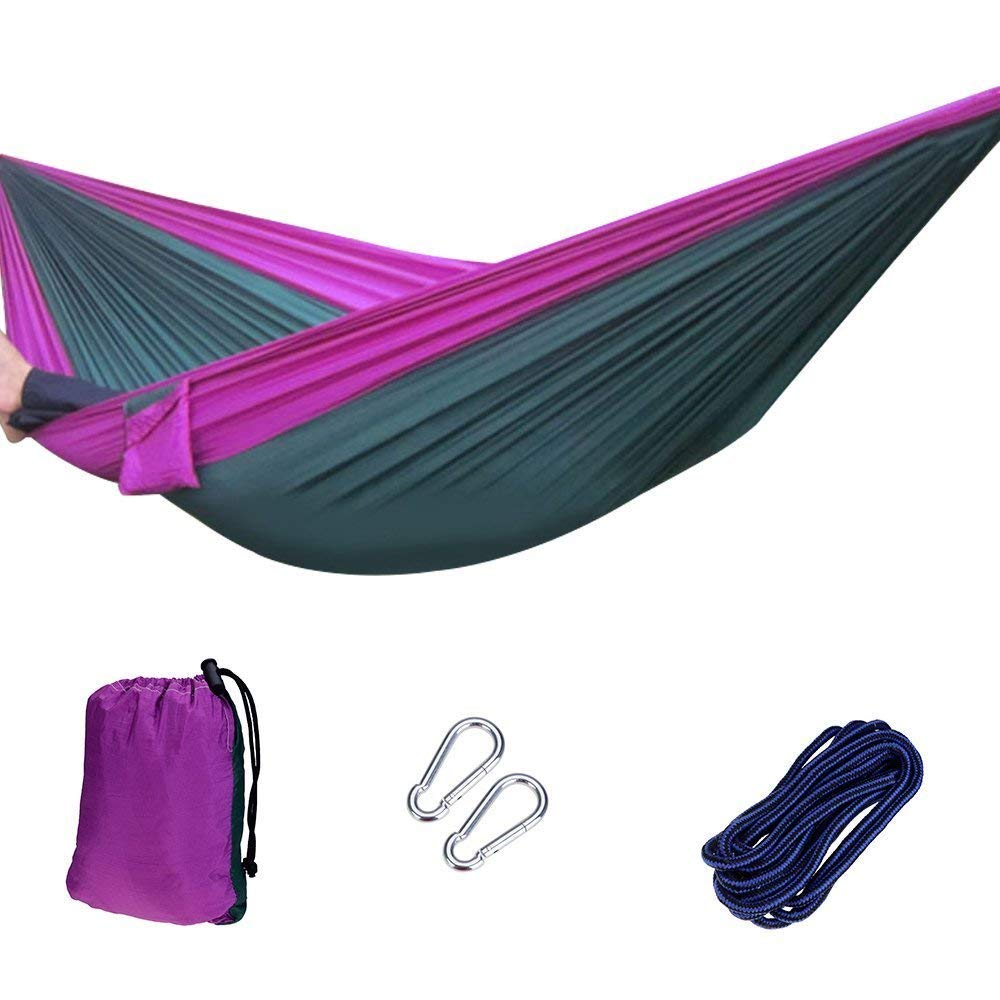 Winterial Mosquito Hammock//Parachute Hammock//Camping//Hiking//Backpacking//Outdoor//Indoor//Backyard//Insect Net Hammock WIN-MHAM-GRN