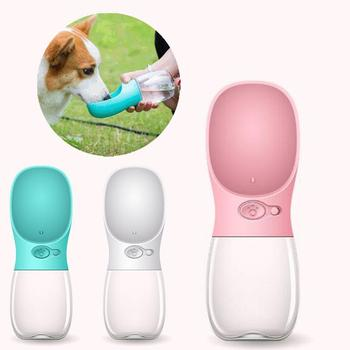 Wholesale Portable Travel Outdoor Drink Dispenser Cat Pet Dog Feeding Drinking Travel Water Bottle
