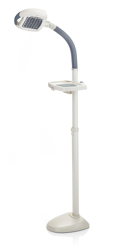 Verilux EasyFlex Natural Spectrum Deluxe Floor Lamp, Ivory