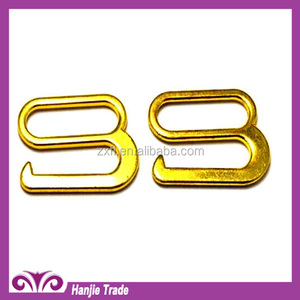 New Style 18mm Alloy Bra Strap hook and Adjuster Hook