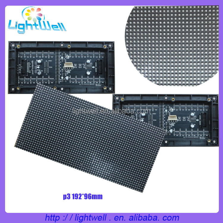 RGB display 64*32 led dot matrix smd led panels