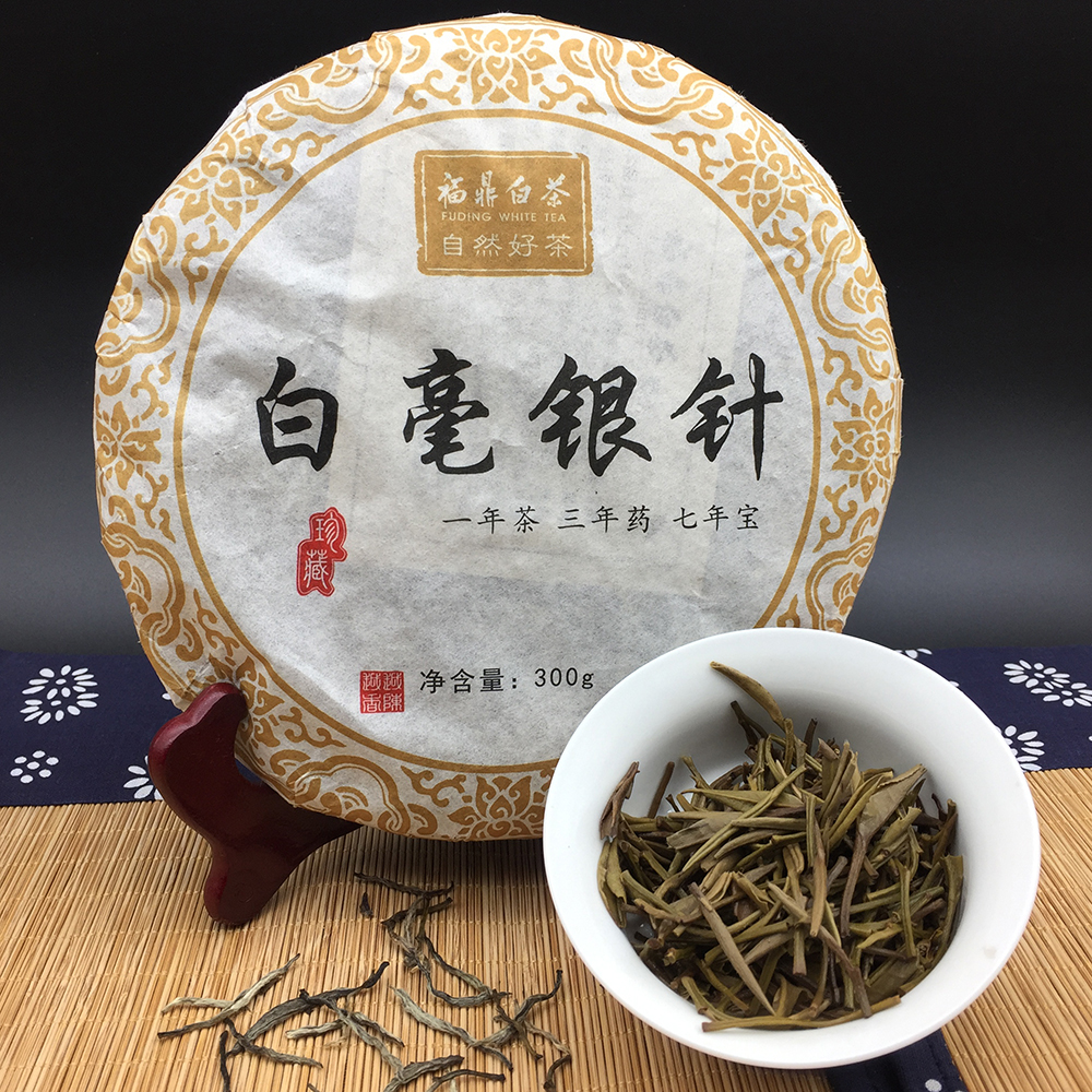 Canned Organic Silver Needle Bai Long Zhu White Monkey Tea Cake Slimming Organic White Tea - 4uTea | 4uTea.com