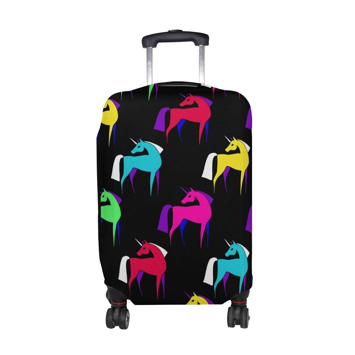8607693a7 Get Quotations · ALAZA Different Koala Unicorn Animals Luggage Suitcase  Cover Case Protector