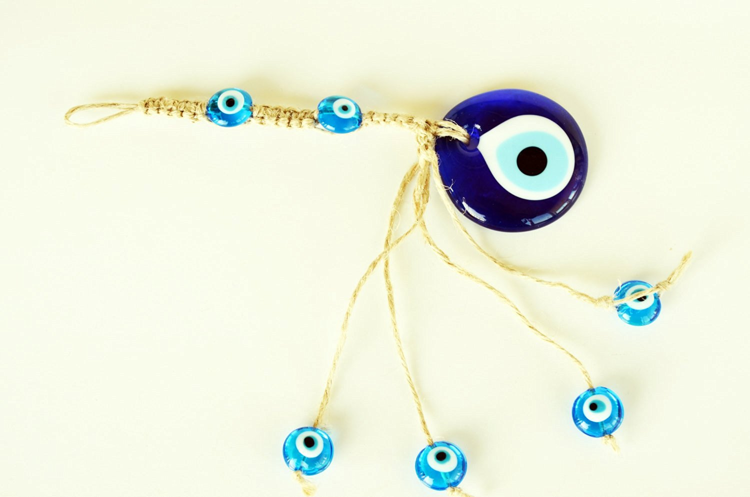 6f9c2967b29 Get Quotations · Evil Eye Wall Hanging Charm Protection