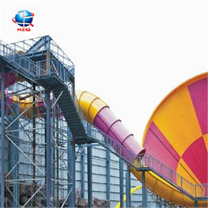China factory supply amus park water slide pipe, supply amusement park