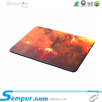 rubber mouse pad for gamer