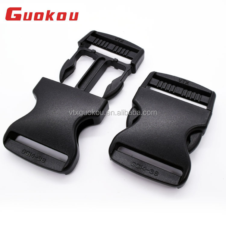 New product 25mm plastic nylon side release buckles for backpacks quick release buckles for dog collars with logo