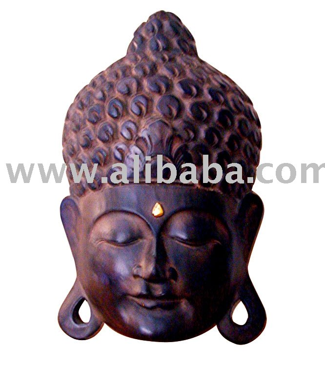 Buda Mask Wall Hanging