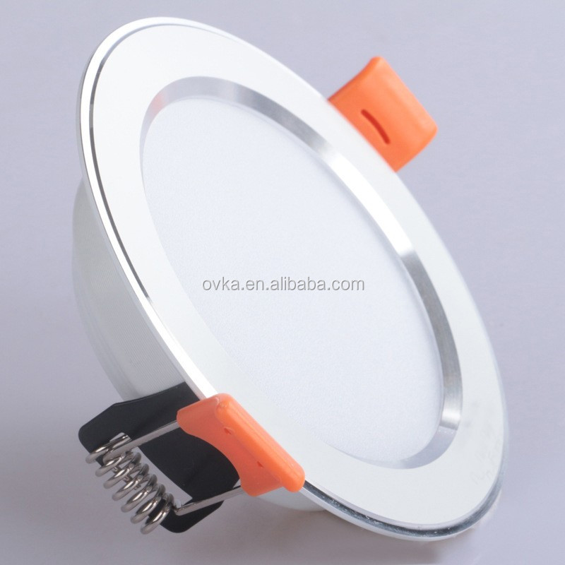 "3"" 8 inch AC 85-265V 3W 15W 18W cutout SMD <strong>Downlight</strong> with 3 color change"
