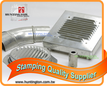 OEM Service Low Cost Stamping Ventilation Parts Assembly