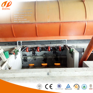 Recycling and Beneficial Use of Scrap Whole Tires Derived Fuel Plant/waste tire recycling machine