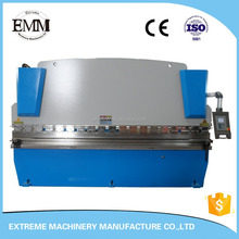 WE67K-80/2500 CNC hydraulic stainless steel press brake