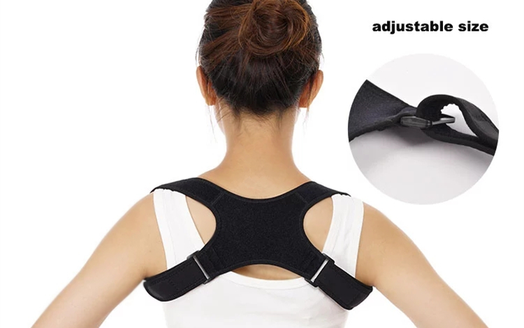 Voltar Ombro Postura Corrector Brace spine Coluna de apoio Ortopédico