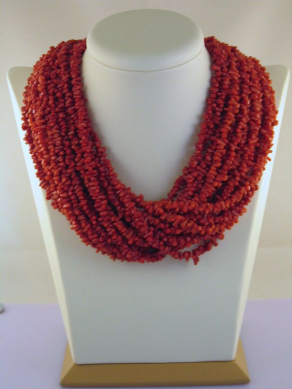 Natural Red Italian Coral - short branches