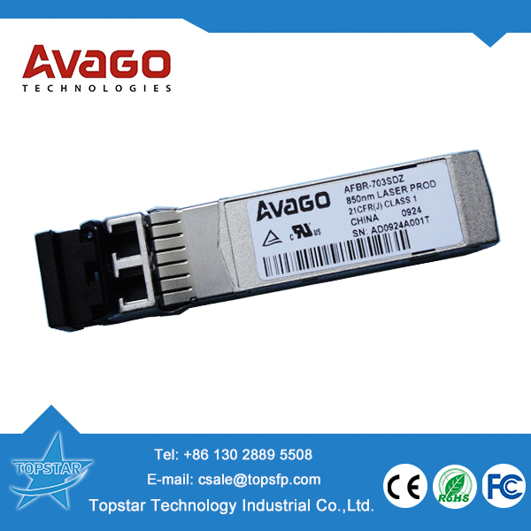 Original Avago AFBR-703SDZ 10Gbps 850nm 300m Avago fiber optic module optic fiber clothes