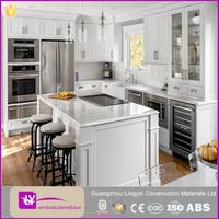 American Design MDF Board Kitchen cabient White Lacquer Modular Kitchen Design