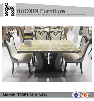 Modern Furniture Design Seater Silver Grey Traver Marble Top - Grey marble top dining table
