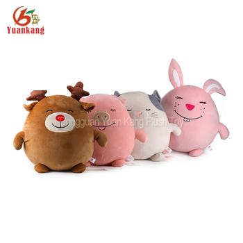 Small Round Series Plush Bear Fat Pig Stuffed Animal Toys Buy