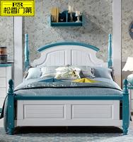 Double Color Single Size Kids Bedroom Furniture