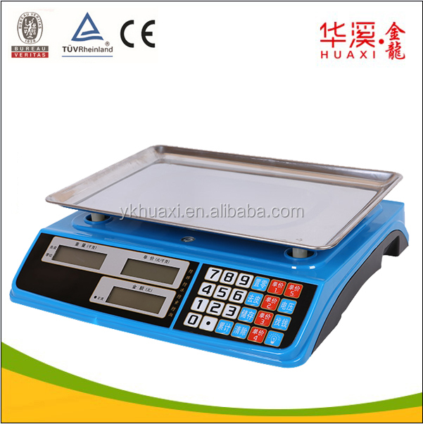 Electronic Food/ Meat/ Vegetable Weighing Machine 15kg 30kg