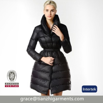 Custom Womens Feather Down Winter Coats/women Down Jacket ...
