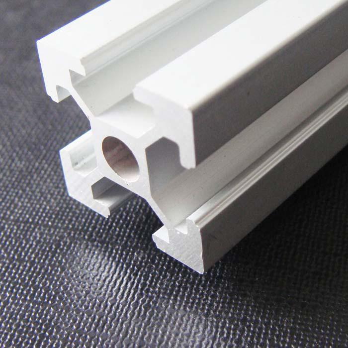 t slot aluminum profile aluminum extrusion profile 2020 t slot groove 6 l 1000mm oxidationt. Black Bedroom Furniture Sets. Home Design Ideas