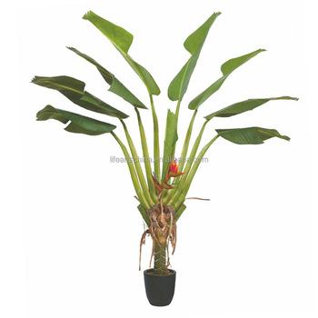 Pohon Pisang Buatan 220 Cm Burung Surga Tanaman Buatan Dengan Pot Buy Tanaman Buatan Pohon Pisang Pohon Plastik Product On Alibaba Com