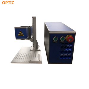 Co2 laser printer for plastic fadeness marks