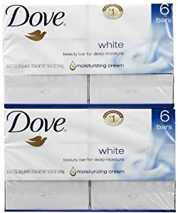 Dove Beauty Bar - White - 3.17 oz - 6 ct - 2 pk by Dove