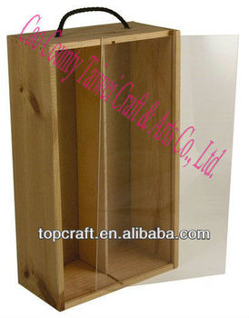 Antique Chinese Wooden Food Packaging