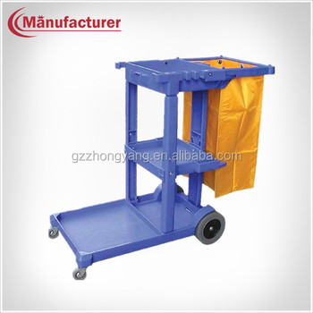 Hotel Multi-function Dirty Cceaning Cart,Household Room Clean ...