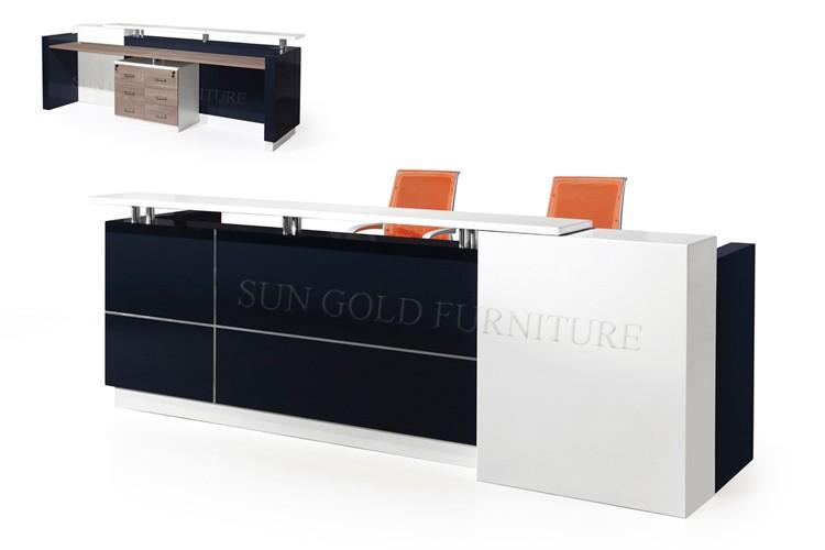 front office counter furniture. wooden furniture model office front desk counter reception table design szrt011 l