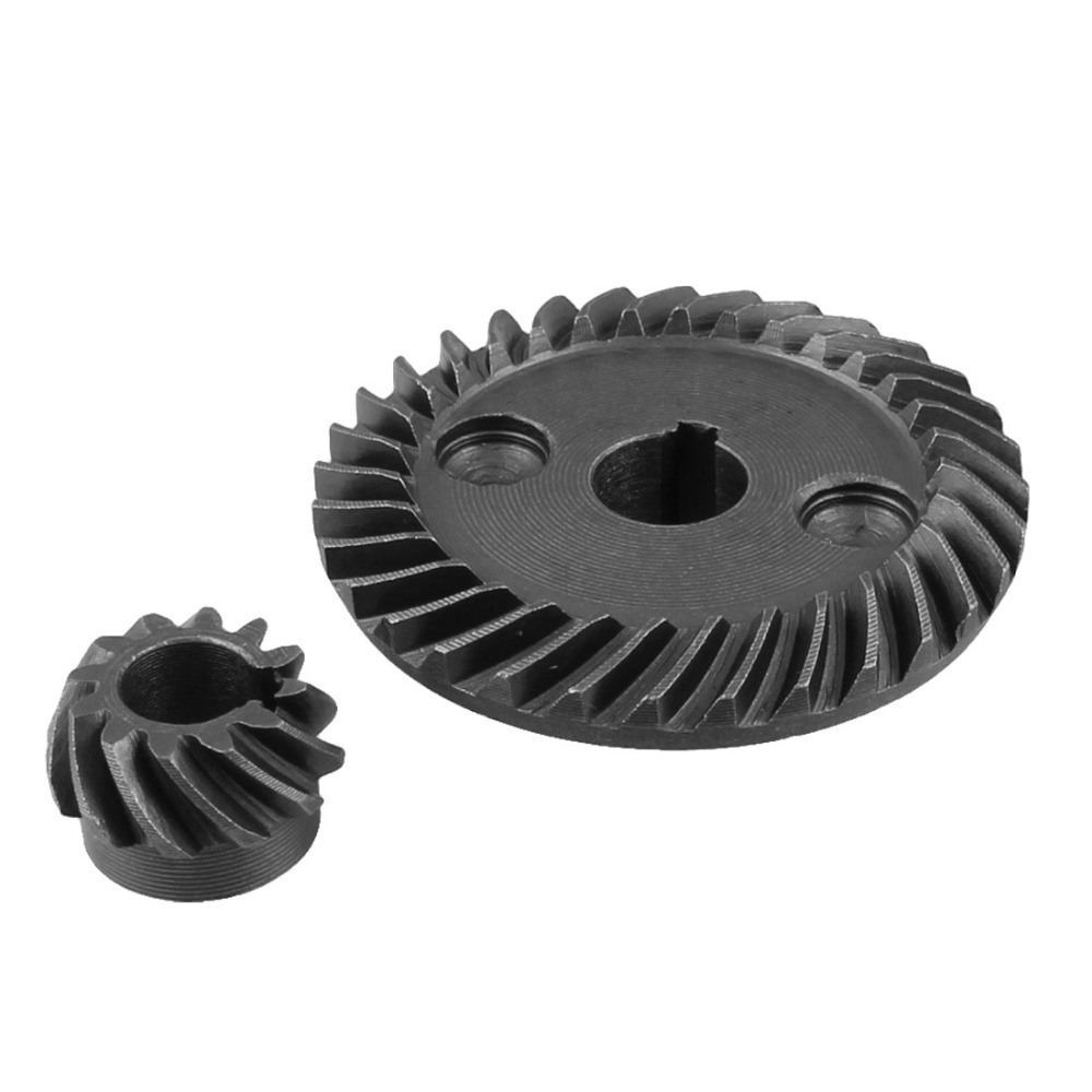 Metalen 8mm Rondsel As Dia 10mm As Dia Spiral Bevel Gear Set voor Makita 9523 Hoek Sander Gear wiel Vervanging
