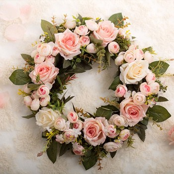 Wedding Backdrops Artificial Flowers For Funeral Wreaths Buy